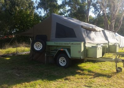 Deluxe Camper trailer easy to set up