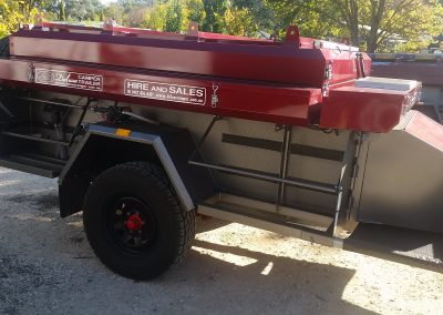 Quality made camper trailer designed for the Australian outback
