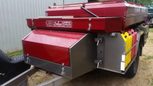 Camper trailer top from Deluxe Camper Trailers Woodside South Australia