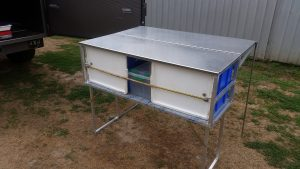 Free Camping Kitchentop