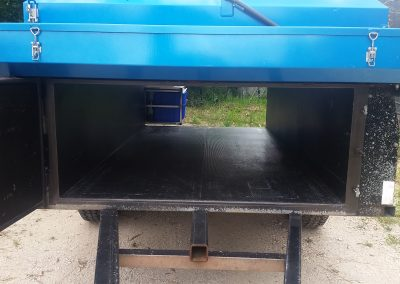 Plenty of storage space for all your camping needs with a Deluxe Camer Trailer
