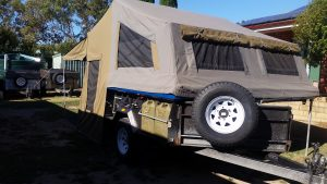 Safari camper trailer for hire Adelaide