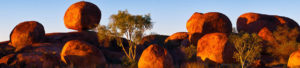 Camping at the Devils Marbles
